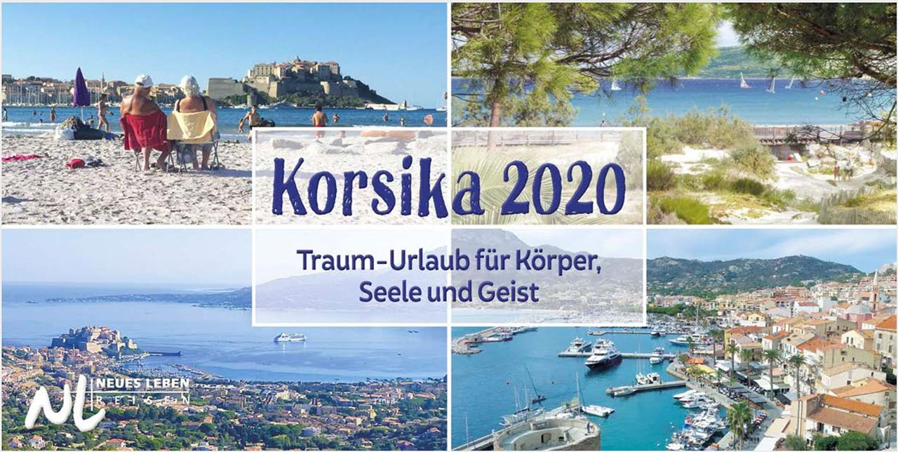 Prospekt / Katalog Korsika